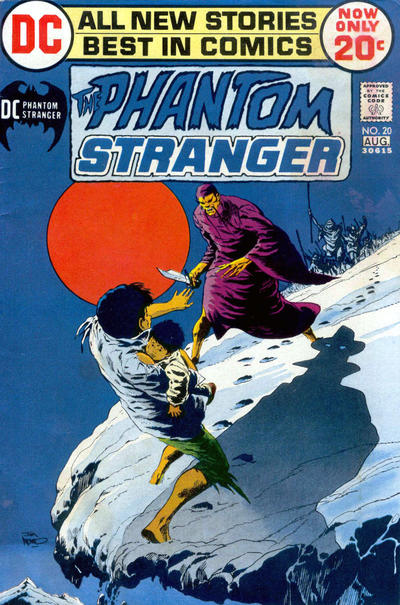 Cover for The Phantom Stranger (1969 series) #20