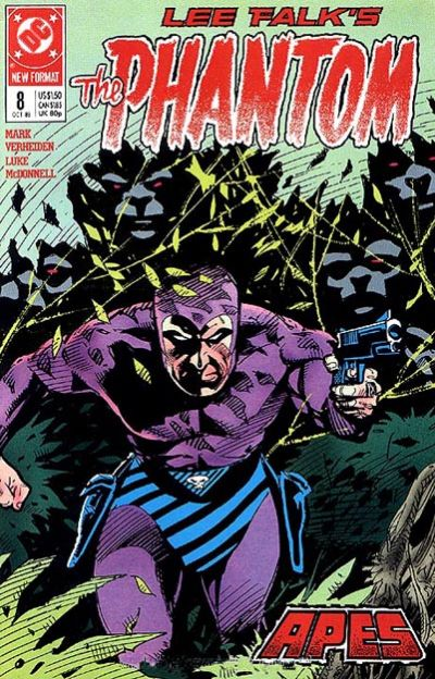 Cover for The Phantom (DC, 1989 series) #8