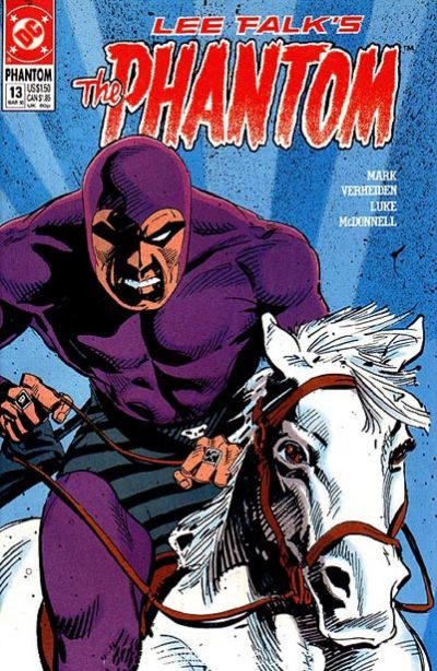 Cover for The Phantom (DC, 1989 series) #13