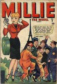 Cover Thumbnail for Millie the Model Comics (Marvel, 1945 series) #9
