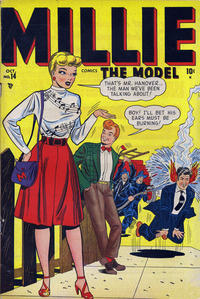 Cover Thumbnail for Millie the Model Comics (Marvel, 1945 series) #14