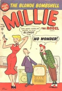 Cover Thumbnail for Millie the Model Comics (Marvel, 1945 series) #30