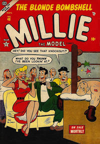 Cover Thumbnail for Millie the Model Comics (Marvel, 1945 series) #48