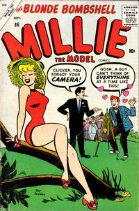 Cover Thumbnail for Millie the Model Comics (Marvel, 1945 series) #86