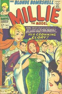 Cover Thumbnail for Millie the Model (Marvel, 1966 series) #145