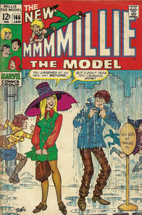 Cover Thumbnail for Millie the Model (Marvel, 1966 series) #166