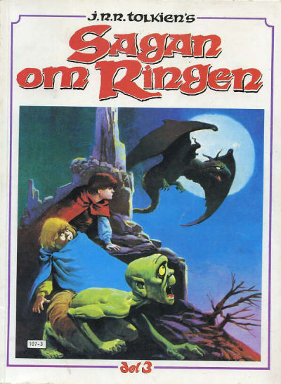 Cover for Sagan om ringen (1979 series) #3