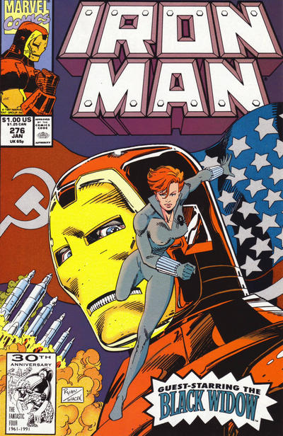 Cover for Iron Man (Marvel, 1968 series) #276