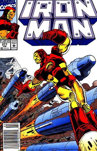 Cover for Iron Man (1968 series) #277 [Direct]