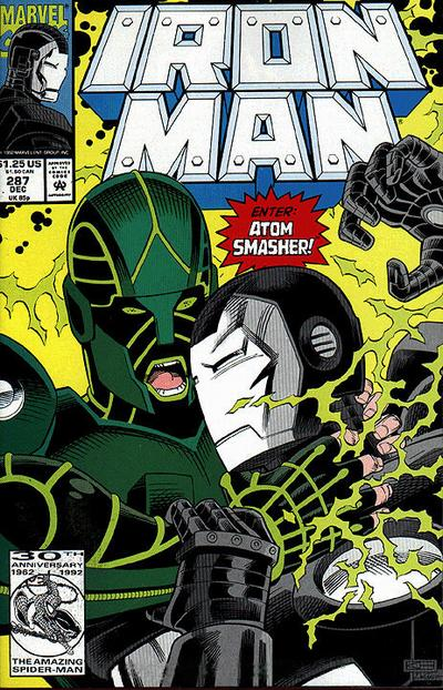 Cover for Iron Man (Marvel, 1968 series) #287