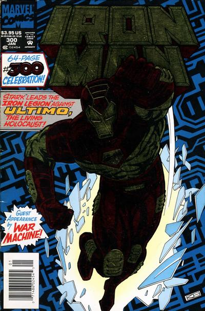Cover for Iron Man (Marvel, 1968 series) #300 [Direct Edition Enhanced]