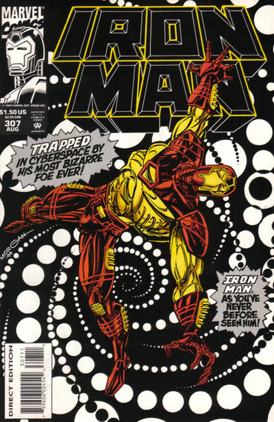 Cover for Iron Man (1968 series) #307 [Direct Edition]