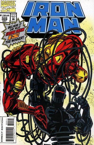 Cover for Iron Man (Marvel, 1968 series) #309