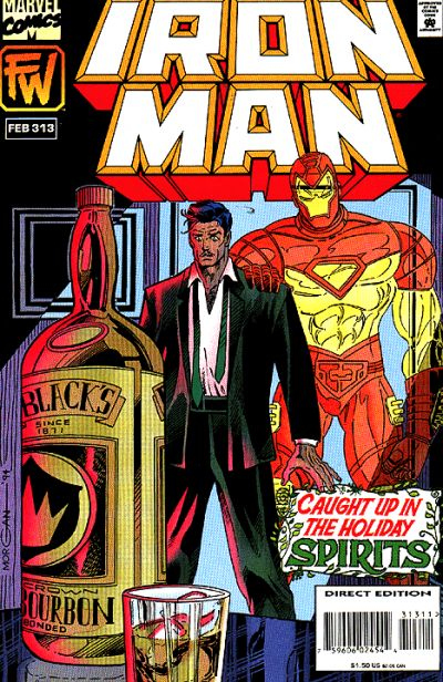 Cover for Iron Man (1968 series) #313