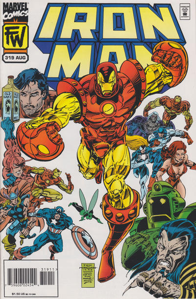 Cover for Iron Man (Marvel, 1968 series) #319
