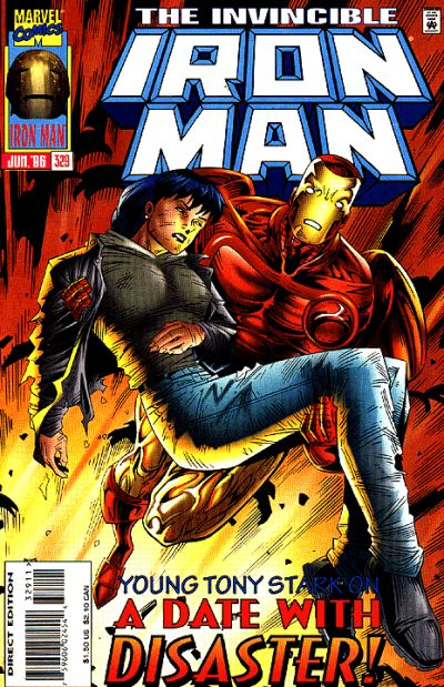 Cover for Iron Man (Marvel, 1968 series) #329