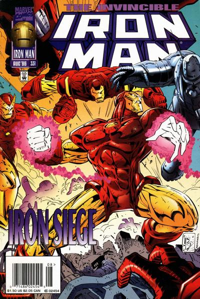 Cover for Iron Man (Marvel, 1968 series) #331 [Direct Edition]