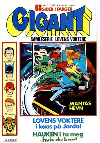 Cover for Gigant (Semic, 1977 series) #3/1978