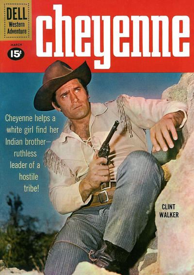 Cover for Cheyenne (Dell, 1957 series) #20