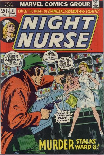 Cover for Night Nurse (Marvel, 1972 series) #3