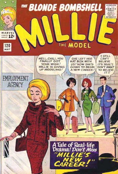 Cover for Millie the Model (1945 series) #120