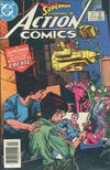 Cover Thumbnail for Action Comics (1938 series) #554 [Canadian Newsstand Edition]