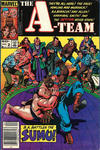 Cover for The A-Team (Marvel, 1984 series) #2 [Newsstand Edition]
