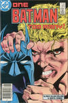 Cover Thumbnail for Batman (1940 series) #403 [Canadian Newsstand Edition]