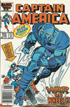 Cover for Captain America (Marvel, 1968 series) #318 [Canadian Newsstand Edition]