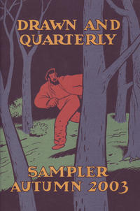 Cover Thumbnail for Drawn and Quarterly Sampler Autumn 2003 (Drawn & Quarterly, 2003 series)