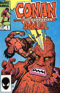 Cover Thumbnail for Conan Annual (Marvel, 1973 series) #9 [Direct Edition]