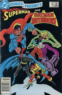 Cover for DC Comics Presents (DC, 1978 series) #83 [Direct]