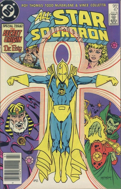Cover for All-Star Squadron (DC, 1981 series) #47 [Direct Edition]