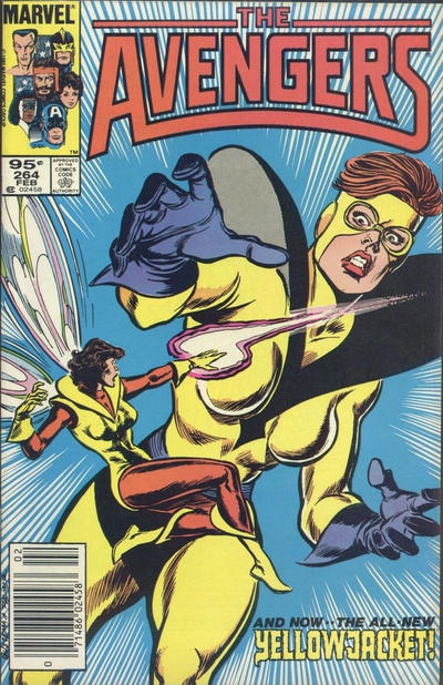Cover for The Avengers (Marvel, 1963 series) #264 [Direct Edition]
