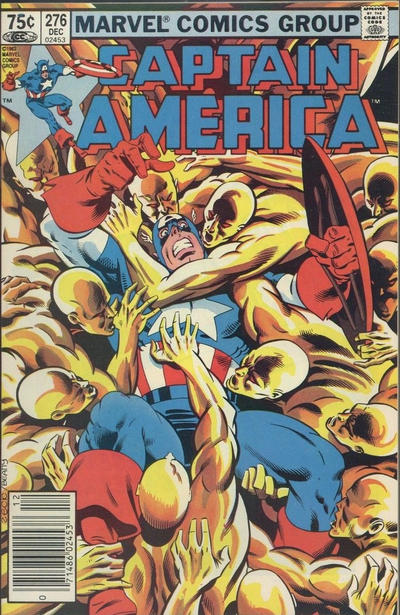 Cover for Captain America (Marvel, 1968 series) #276 [Direct Edition]