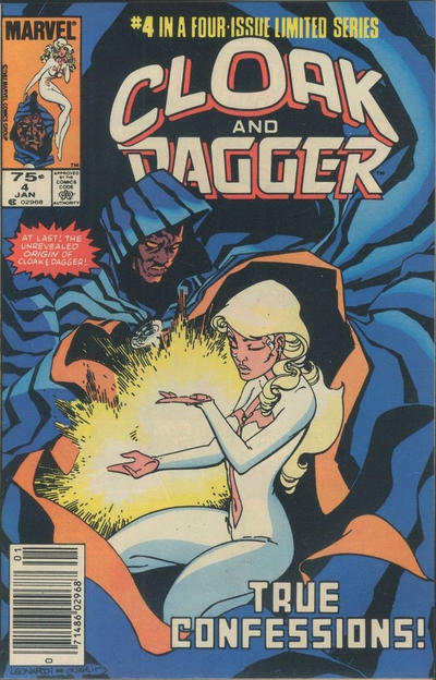 Cover for Cloak and Dagger (Marvel, 1983 series) #4 [Newsstand Edition]