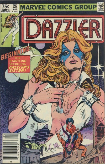 Cover for Dazzler (Marvel, 1981 series) #26 [Direct Edition]