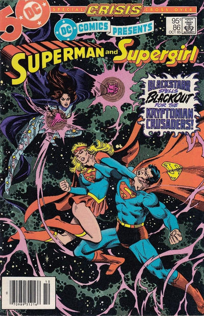 Cover for DC Comics Presents (DC, 1978 series) #86 [Direct Edition]