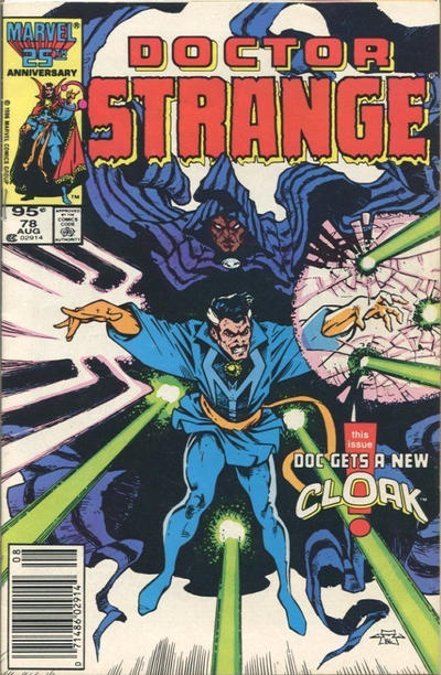 Cover for Doctor Strange (Marvel, 1974 series) #78 [Newsstand Edition]