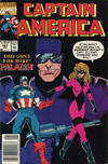 Cover Thumbnail for Captain America (1968 series) #381 [Newsstand Edition]