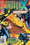Cover Thumbnail for Factor X (1995 series) #4 [Newsstand Edition]