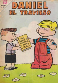 Cover Thumbnail for Daniel el Travieso (Editorial Novaro, 1964 series) #18