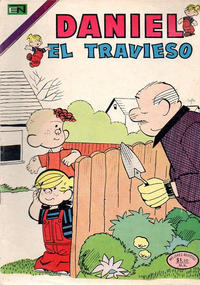 Cover Thumbnail for Daniel el Travieso (Editorial Novaro, 1964 series) #135