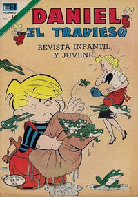 Cover Thumbnail for Daniel el Travieso (Editorial Novaro, 1964 series) #155
