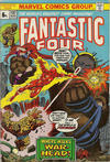 Cover for Fantastic Four (Marvel, 1961 series) #137 [British Price Variant]
