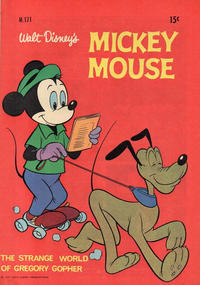 Cover Thumbnail for Walt Disney's Mickey Mouse (W. G. Publications; Wogan Publications, 1956 series) #171