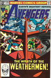 Cover for The Avengers (Marvel, 1963 series) #210 [British Price Variant]