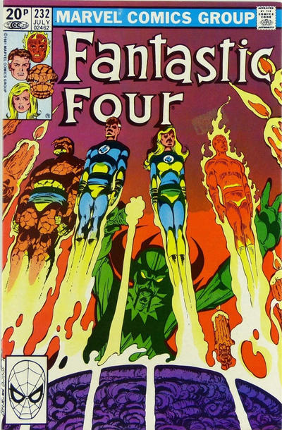 Cover for Fantastic Four (Marvel, 1961 series) #232 [Direct Edition]