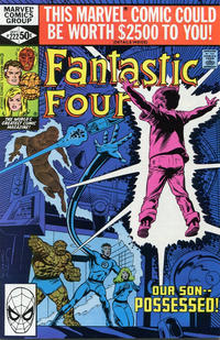 Cover Thumbnail for Fantastic Four (Marvel, 1961 series) #222 [Direct Edition]