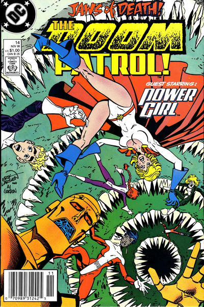 Cover for Doom Patrol (DC, 1987 series) #14 [Direct Edition]